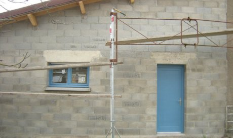 Artisan maçon qualifié Clermont-Ferrand pour réalisation de travaux de maçonnerie